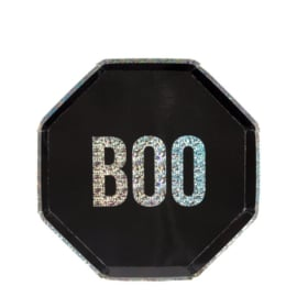 PAPIEREN BORDEN 'BOO' MERI MERI (8ST)