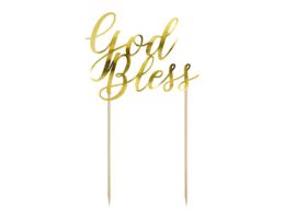 TAARTTOPPER 'GOD BLESS' (1ST)