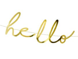 SLINGER 'HELLO BABY/GOUDFOLIE' LITTLE STAR (1ST)
