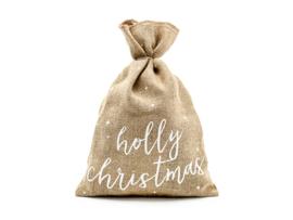 JUTE ZAK 'HOLY CHRISTMAS' (1ST)