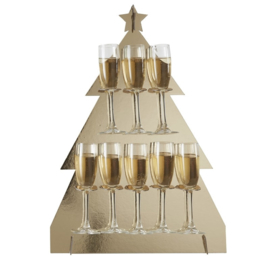 PROSECCO WALL 'KERSTBOOM/GOUD' GINGER RAY (1ST)