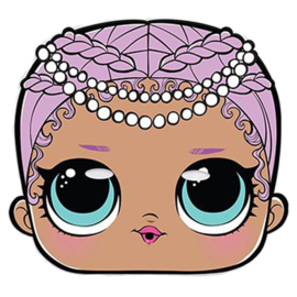 FEESTMASKER 'MERBABY L.O.L. SURPRISE!' UNIQUE® (1ST)