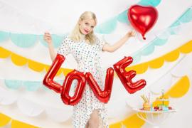 FOLIE BALLON 'LOVE/ROOD' (1ST)