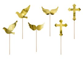 CUPCAKE TOPPERS 'COMMUNIE' (6ST)