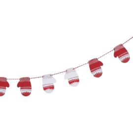 SPECIALE SLINGER HOUT 'WANTEN' COSY CHRISTMAS - 1 STUKS