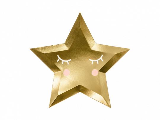 PAPIEREN BORDEN 'LITTLE STAR' (6ST)