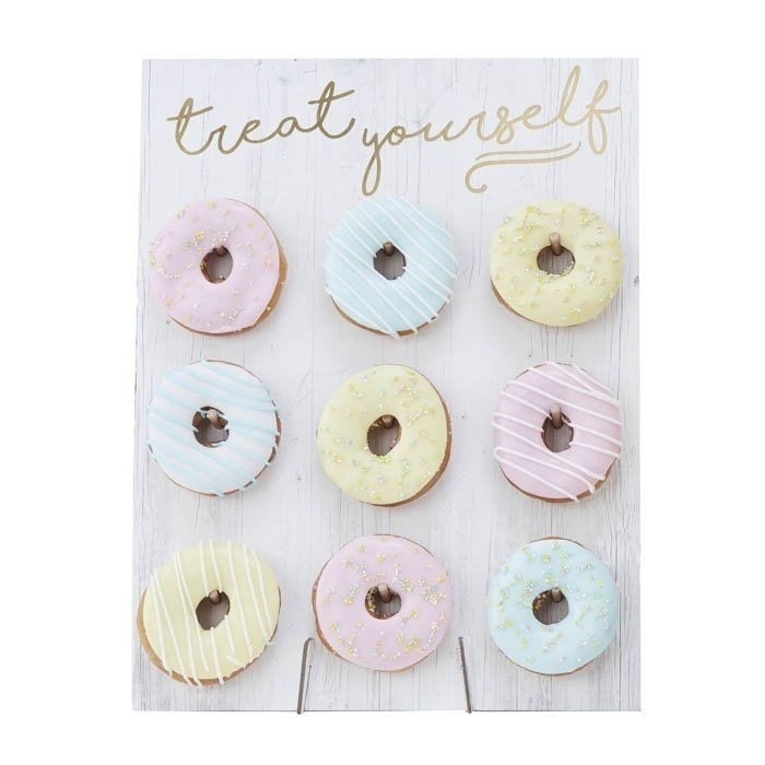 DONUT WALL 'TREAT YOURSELF PICK & MIX PASTEL' GINGER RAY (1ST)