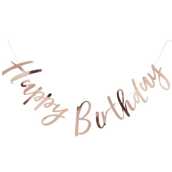 SLINGER 'HAPPY BIRTHDAY/ROSÉGOUDFOLIE' GINGER RAY (1ST)
