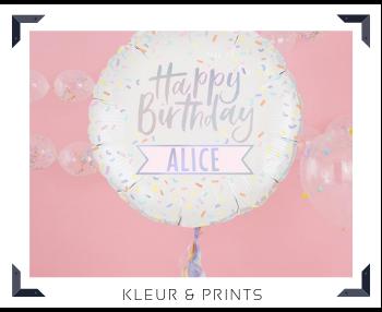 Folie Ballon Kleur effen Prints Feestartikelen feestversiering online kopen hip, trendy & stylish