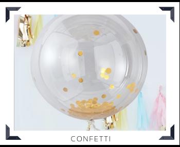 Folie Ballon Confetti Feestartikelen feestversiering online kopen hip, trendy & stylish