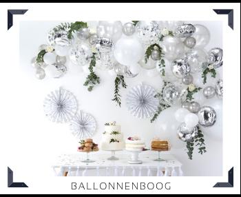 Ballonnenboog feestversiering feestartikelen voor een Verjaardag, Bruiloft, Babyshower, Kinderfeest kopen bij PretaPret altijd hip & trendy