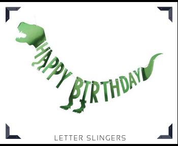 Letter slingers Feestartikelen feestversiering online kopen hip, trendy & stylish
