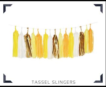 Tassel slingers Feestartikelen feestversiering online kopen hip, trendy & stylish