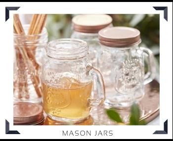 Mason Jars Decoraties feestversiering Verjaardag BBQ Bruiloft Babyshower Feestartikelen Kopen