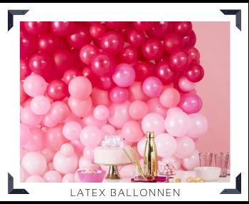 Latex Ballonnen feestversiering feestartikelen voor Verjaardag Babyshower Bruiloft Kinderfeest kopen bij PretaPret altijd hip & trendy