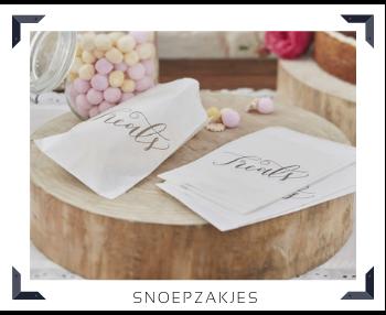 Snoepzakjes Sweettable Candytafel Buffettafel Feestartikelen online kopen hip, trendy & stylish