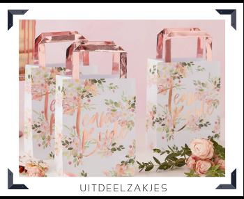 Uitdeelzakjes Sweettable Candytafel Buffettafel Feestartikelen online kopen hip, trendy & stylish