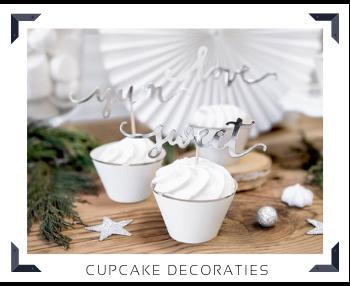 Cupcake decoratie Sweettable Feestartikelen online kopen hip, stylish & trendy