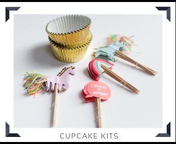 Cupcake kits alles in een Sweettable Feestartikelen online kopen hip, stylish & trendy
