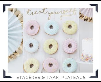kartonnen Etageres en luxe Taartplateaus Sweettable Feestartikelen online kopen hip, stylish & trendy