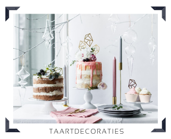 Taartdecoratie Sweettable Feestartikelen online kopen hip, stylish & trendy