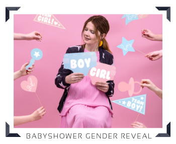 Gender Reveal Party Babyshower feestartikelen en feestversieringen kopen bij PretaPret altijd hip en trendy