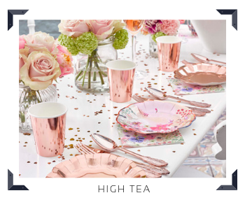Thema decoratie High Tea Feestartikelen online kopen hip, stylish & trendy