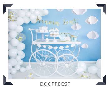 Thema decoratie Doopfeest Feestartikelen online kopen hip, stylish & trendy