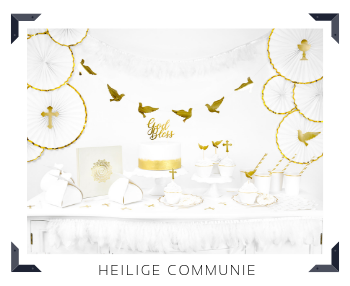 Thema decoratie Heilige Communie Feestartikelen online kopen hip, stylish & trendy
