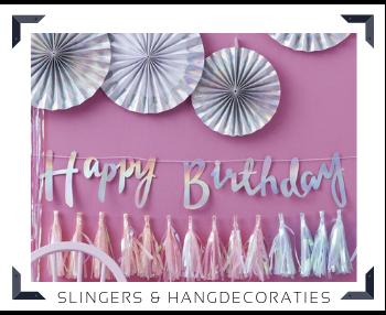 Slingers Hangdecoraties Feestartikelen Feestversiering kopen bij PretaPret altijd hip, trendy & stylish