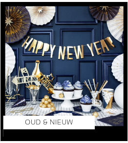 Feestdagen Oud & Nieuw versiering Feestartikelen online kopen hip, trendy & stylish