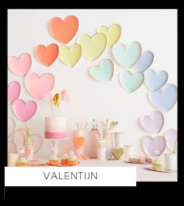 Feestdagen Valentijn versiering Feestartikelen online kopen hip, trendy & stylish