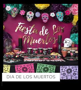 Dia de los Muertos van het merk Partydeco Halloween versiering Feestartikelen online kopen stylish, hip & trendy