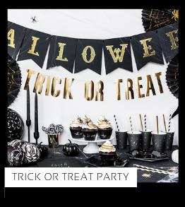Trick or Treat van het merk Partydeco Halloween versiering Feestartikelen online kopen stylish, hip & trendy