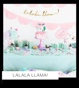 Lama Dieren Kinderboerderij Kinderfeestje Feestartikelen en feestversiering van het merk Partydeco kopen bij PretaPret altijd hip en trendy