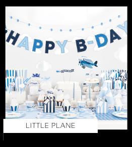 Little Plane Vliegtuigjes Kinderfeestje Feestartikelen en feestversiering van het merk Partydeco kopen bij PretaPret altijd hip en trendy