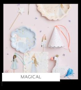 Magical Magisch Prinsessen Fairy Fee Kinderfeestje thema feestartikelen en feestversiering van het merk Partydeco kopen bij PretaPret altijd hip en trendy