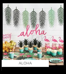 Aloha Flamingo Feestartikelen en Feestversiering Kinderfeestje kopen bij PretaPret altijd hip en trendy