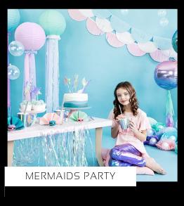 Mermaids Zeemeerminnen Vissen kinderfeestje verjaardag thema feestartikelen en feestversiering van het merk Partydeco kopen bij PretaPret altijd hip en trendy