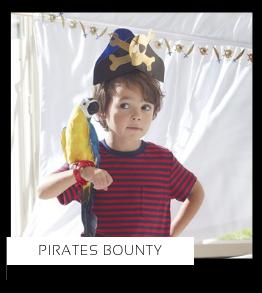 Pirates Bounty Piraten Party Kinderfeestje thema feestartikelen en feestversiering kopen bij PretaPret altijd hip en trendy