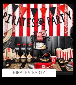 Pirates Piraten Party Kinderfeestje thema feestartikelen en feestversiering kopen bij PretaPret altijd hip en trendy