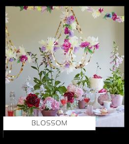 Blossom Bloemen High Tea Kinderfeestje thema Feestartikelen en feestversiering van merk Meri Meri Ginger Ray Talking Tables Partydeco, altijd hip & trendy PretaPret