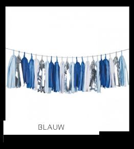 Blauw Kleur Feestversiering Feestartikelen online kopen stylish, hip & trendy