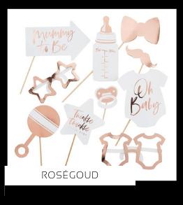 Rosegoud Koper Kleur Feestversiering Feestartikelen online kopen stylish, hip & trendy