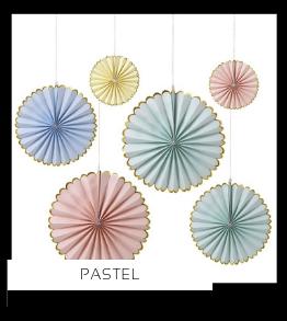 Pastel Kleur Feestartikelen online kopen stylish, hip & trendy