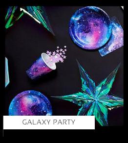 Galaxy Party Verjaardag versiering collecties thema merk Ginger Ray Partydeco Talking Tables Meri Meri My Little Day My Mind's Eye Feestartikelen online kopen hip, stylish & trendy