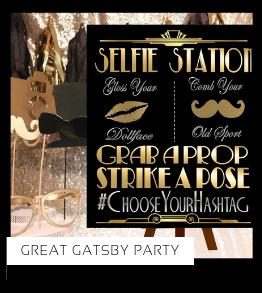 Great Gatsby Party Verjaardag versiering collecties thema merk Ginger Ray Partydeco Talking Tables Meri Meri My Little Day My Mind's Eye Feestartikelen online kopen hip, stylish & trendy