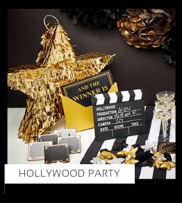 Hollywood Party Verjaardag versiering collecties thema merk Ginger Ray Partydeco Talking Tables Meri Meri My Little Day My Mind's Eye Feestartikelen online kopen hip, stylish & trendy