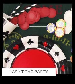 Las Vegas Verjaardag versiering collecties thema merk Ginger Ray Partydeco Talking Tables Meri Meri My Little Day My Mind's Eye Feestartikelen online kopen hip, stylish & trendy