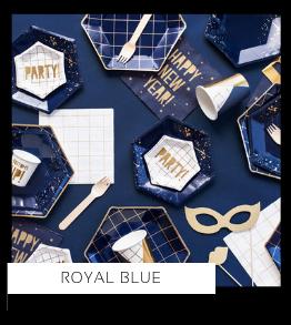 Royal Blue Verjaardag versiering collecties thema merk Ginger Ray Partydeco Talking Tables Meri Meri My Little Day My Mind's Eye Feestartikelen online kopen hip, stylish & trendy